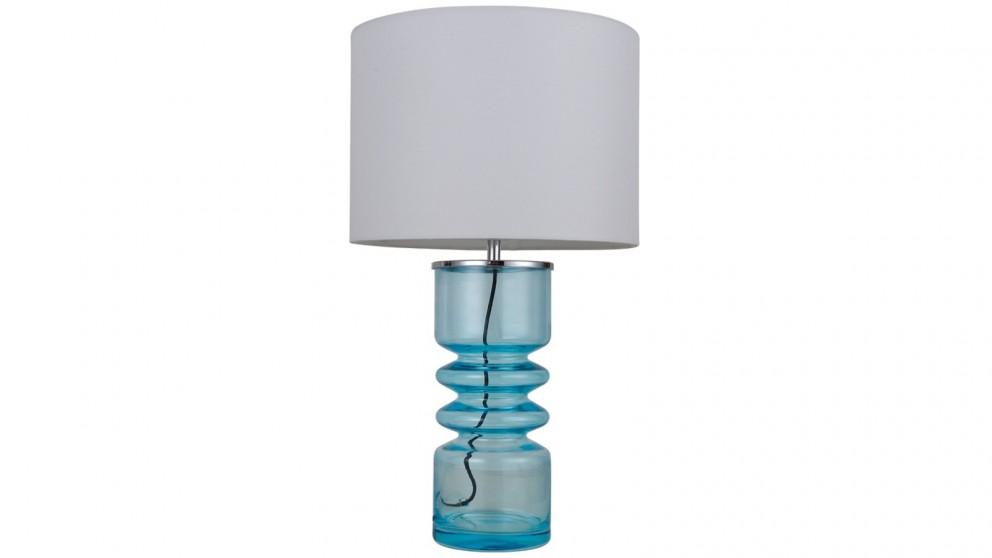 Lexi Lighting Julina Table Lamp - Aqua