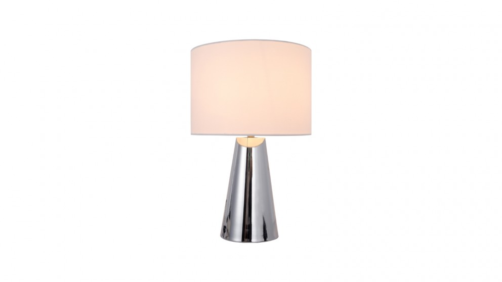 Lexi Lighting Tayla Touch Table Lamp - White