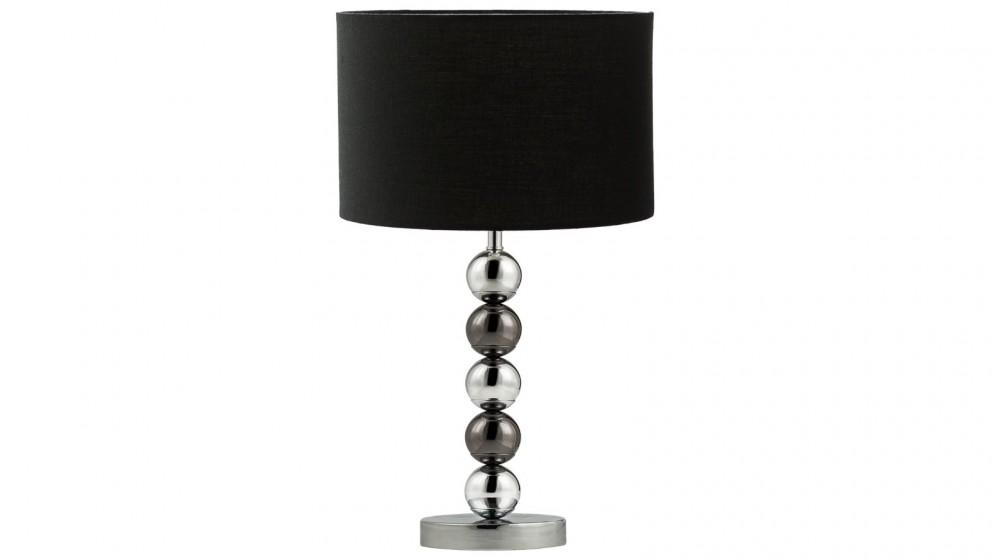 Lexi Lighting Maxi Bedside Table Lamp - Black