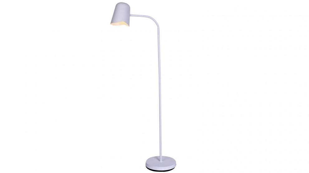 Lexi Lighting Peggy Adjustable Floor Lamp - White