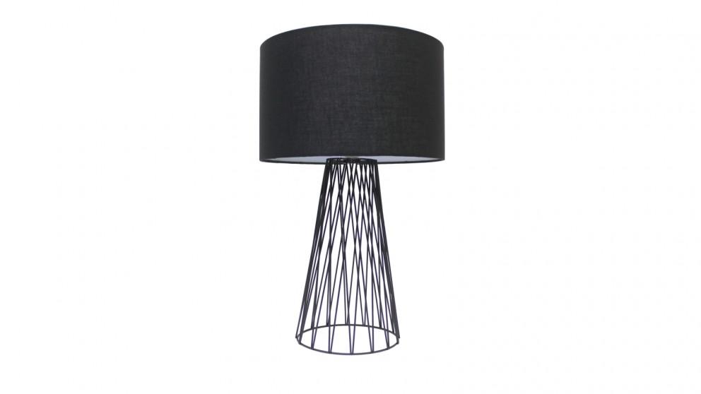 Lexi Lighting Albus Table Lamp - Black