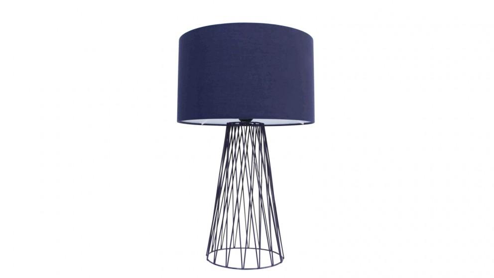 Lexi Lighting Albus Table Lamp - Blue
