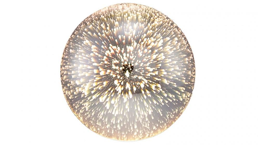 Lexi Lighting Javarone Table Lamp - Chrome
