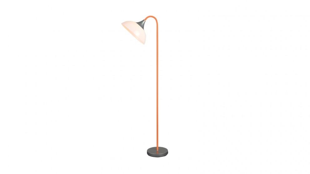Lexi Lighting Alberta Floor Lamp - Orange