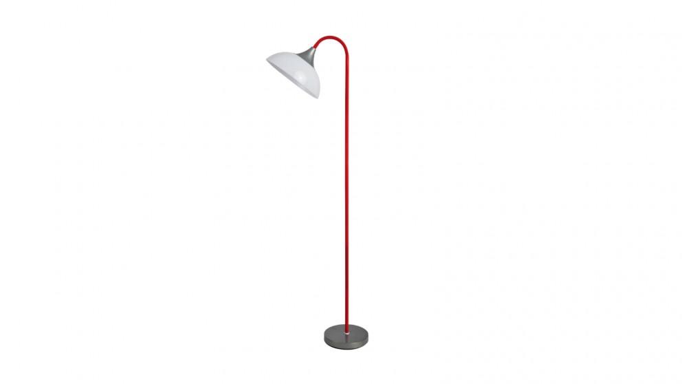 Lexi Lighting Alberta Floor Lamp - Red