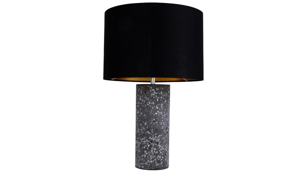 Lexi Lighting Britta Terrazzo Table Lamp - Black