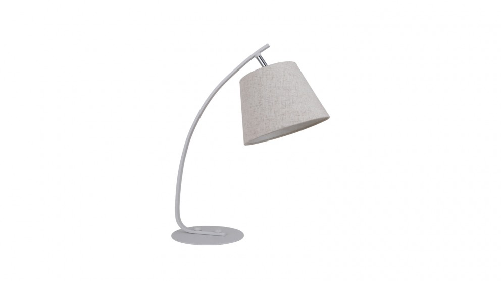 Lexi Lighting Letizia Table Lamp - White