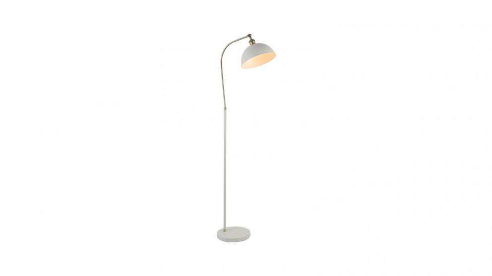 Lexi Lighting Lenna Floor Lamp - White