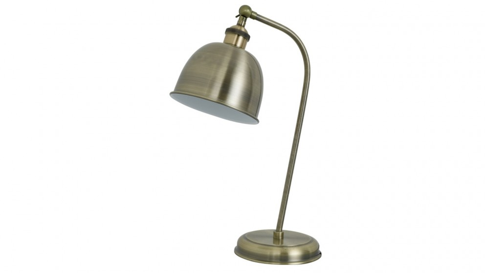 Lexi Lighting Lenna Table Lamp - Antique Brass
