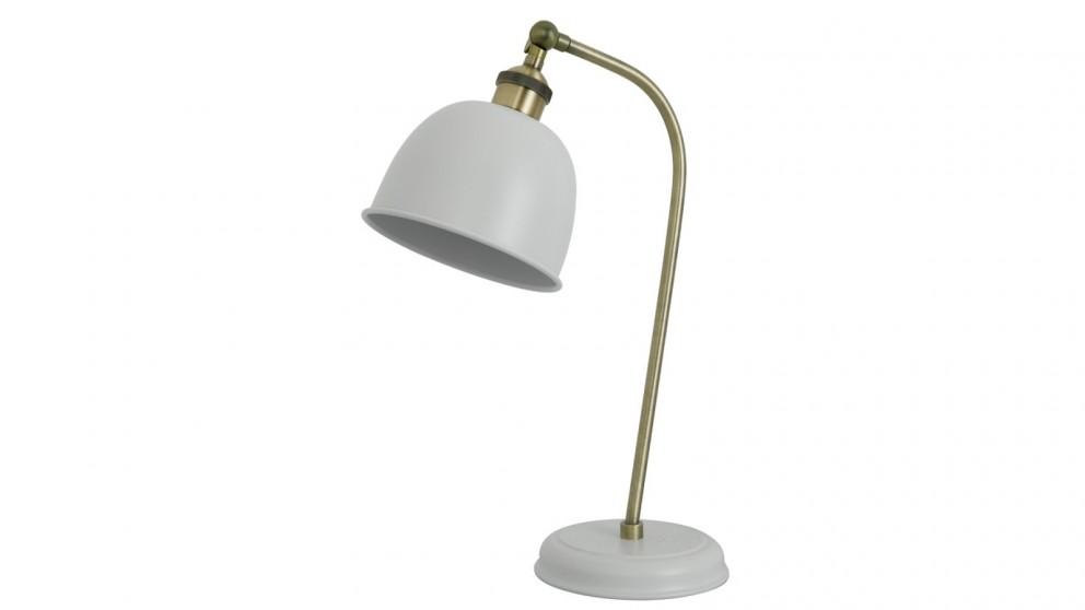 Lexi Lighting Lenna Table Lamp - White