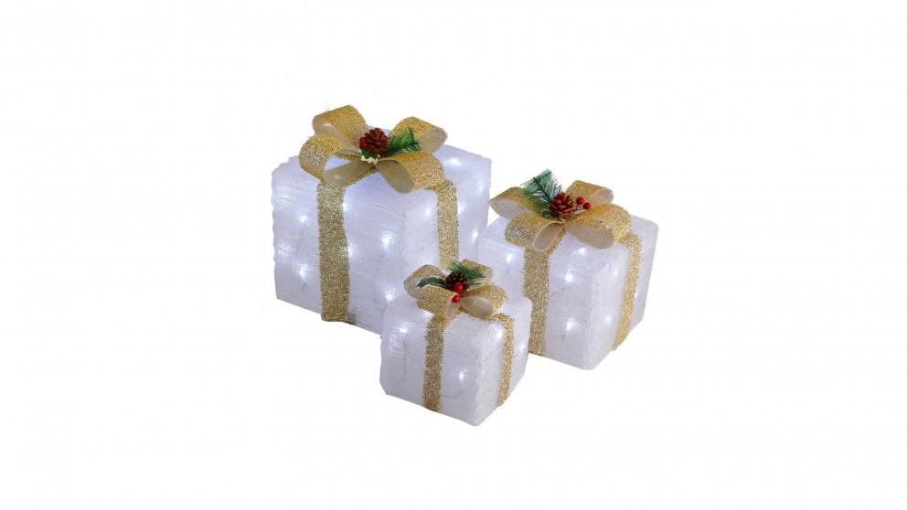 Lexi Lighting LED Acrylic Gift Box - Set of 3