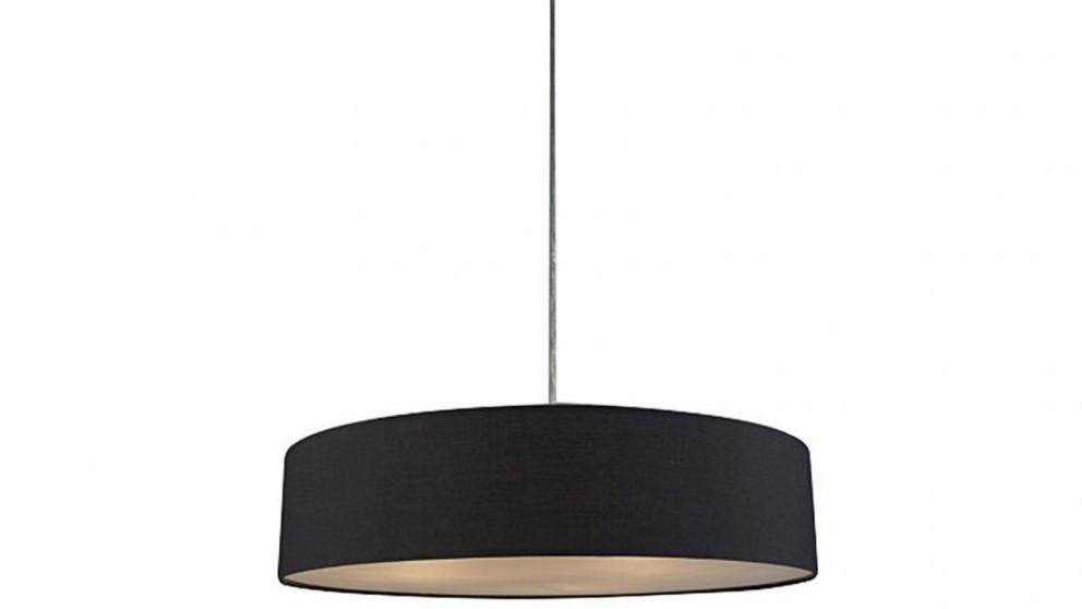 Lexi Lighting Mara Drum Pendant Light - Black
