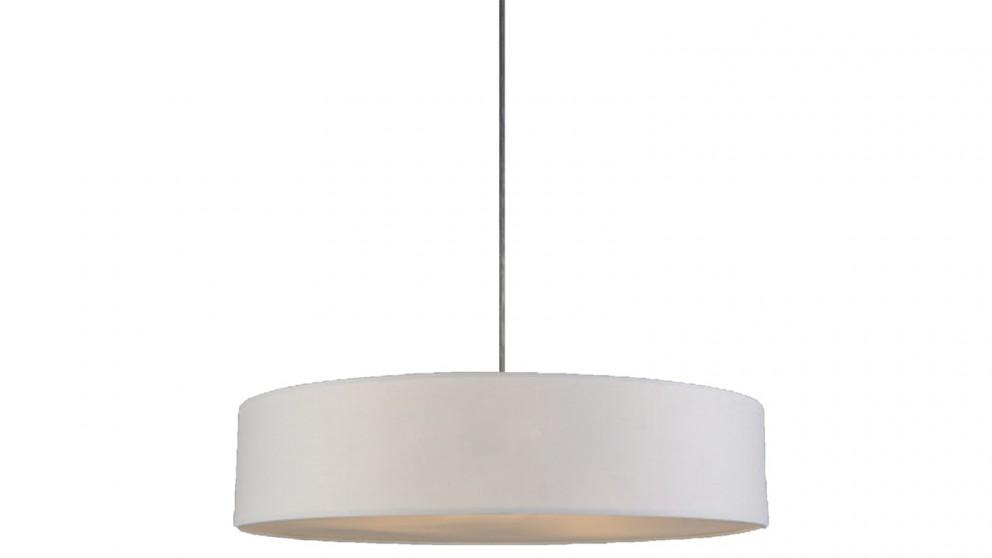 Lexi Lighting Mara Drum Pendant Light - White