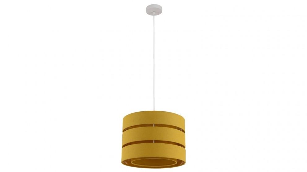 Lexi Lighting Trio Pendant Light - Yellow
