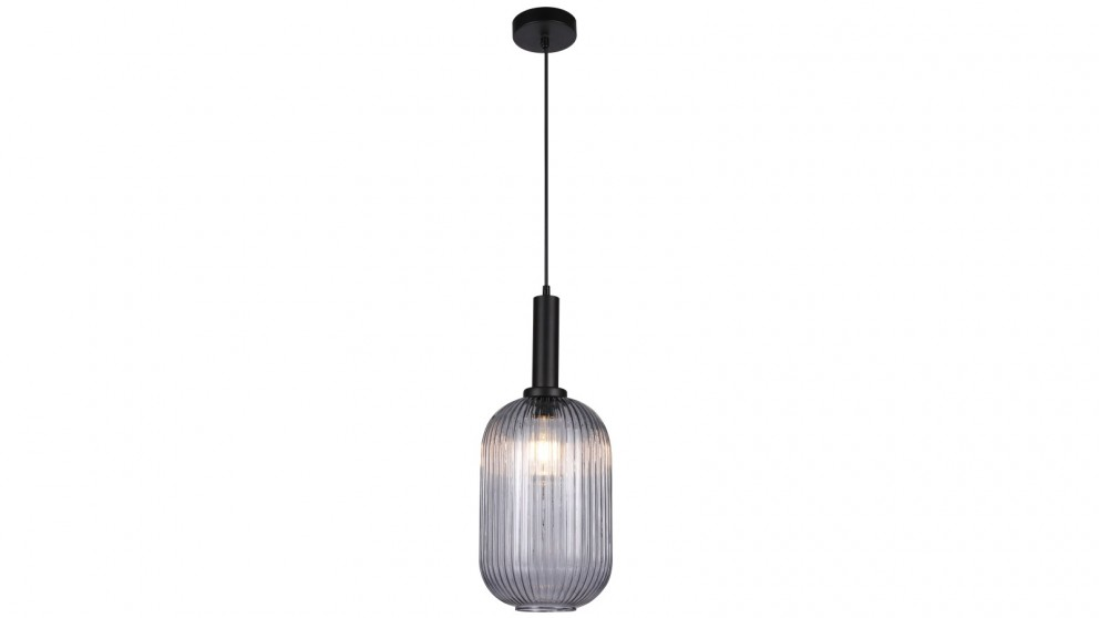 Lexi Lighting Tius Glass Pendant Light - Cylinder