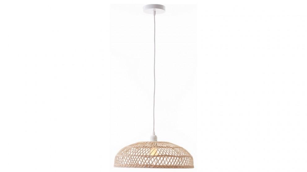 Lexi Lighting Amara Rattan Pendant Light - Small