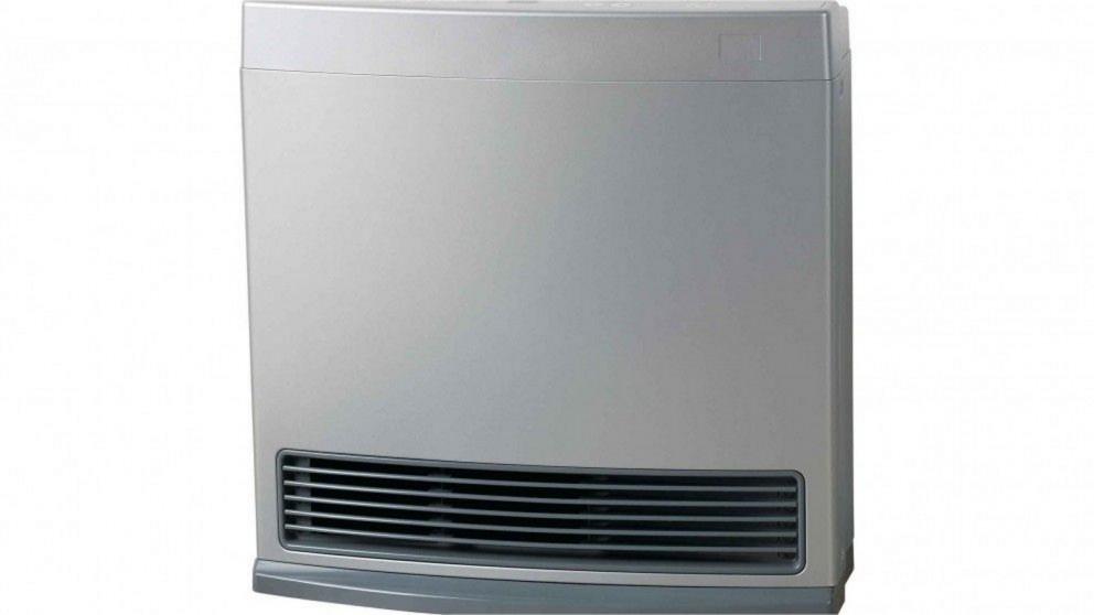 Rinnai Enduro 13 Unflued Natural Gas Convector Heater - Platinum Silver