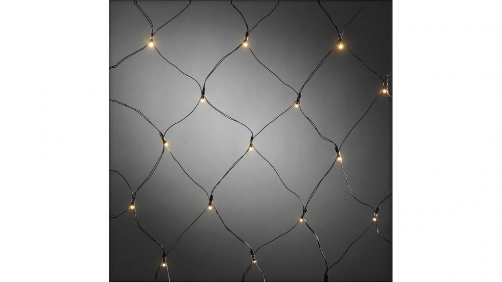 Lexi Lighting 160 LED Net Light Extendable - Warm White