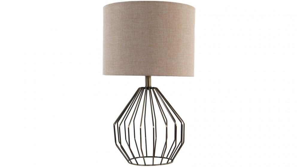 Capri Table Lamp - Blush