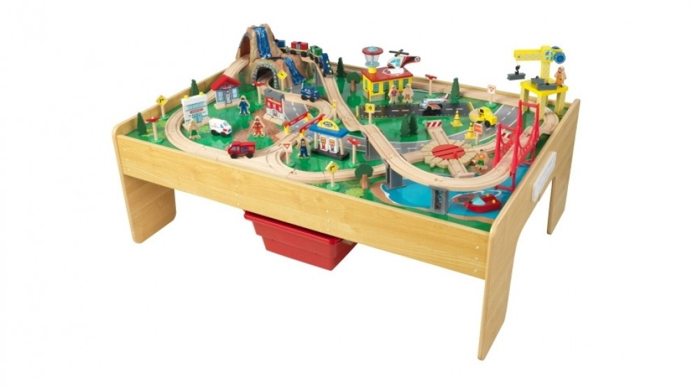 Adventure Town Railways Set and Table