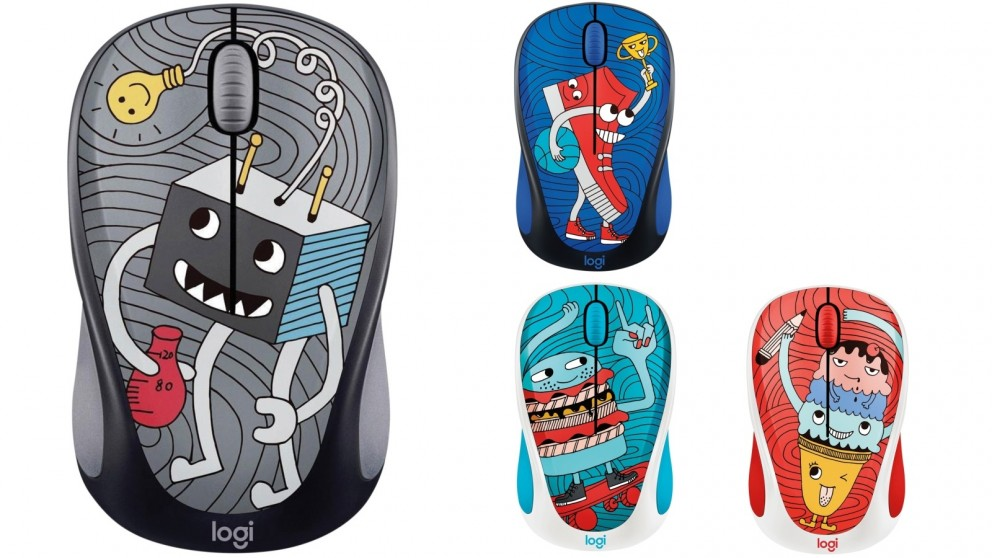 Logitech M238 Doodle Collection Wireless Mouse