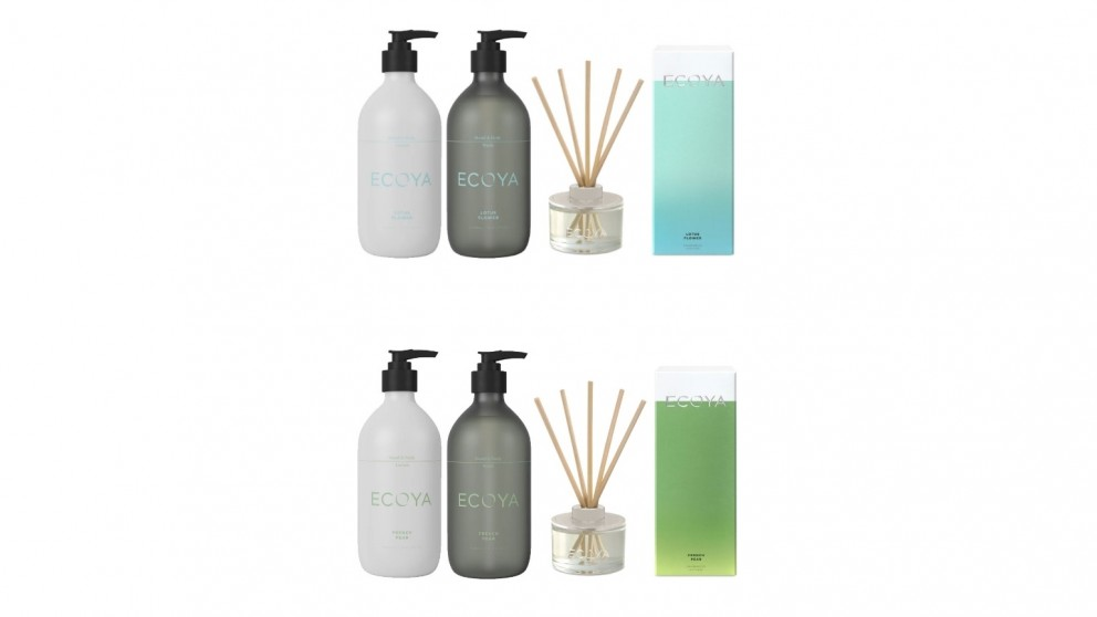 Ecoya Hand and Body Wash and Lotion Set