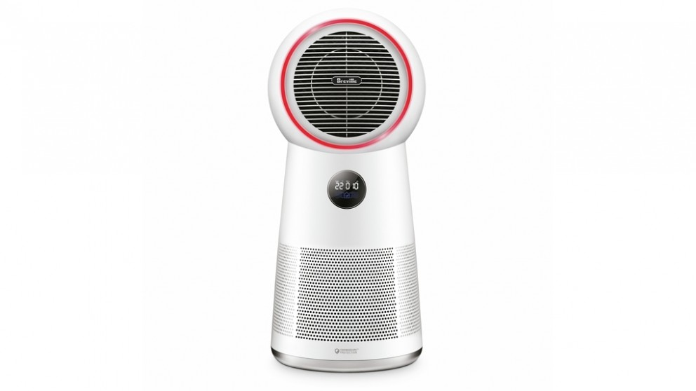 Breville the AirRounder Plus Connect Heater, Fan and Purifier