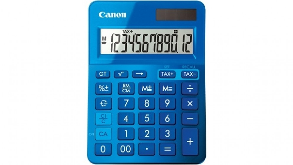 Canon LS123K Calculator - Metallic Blue