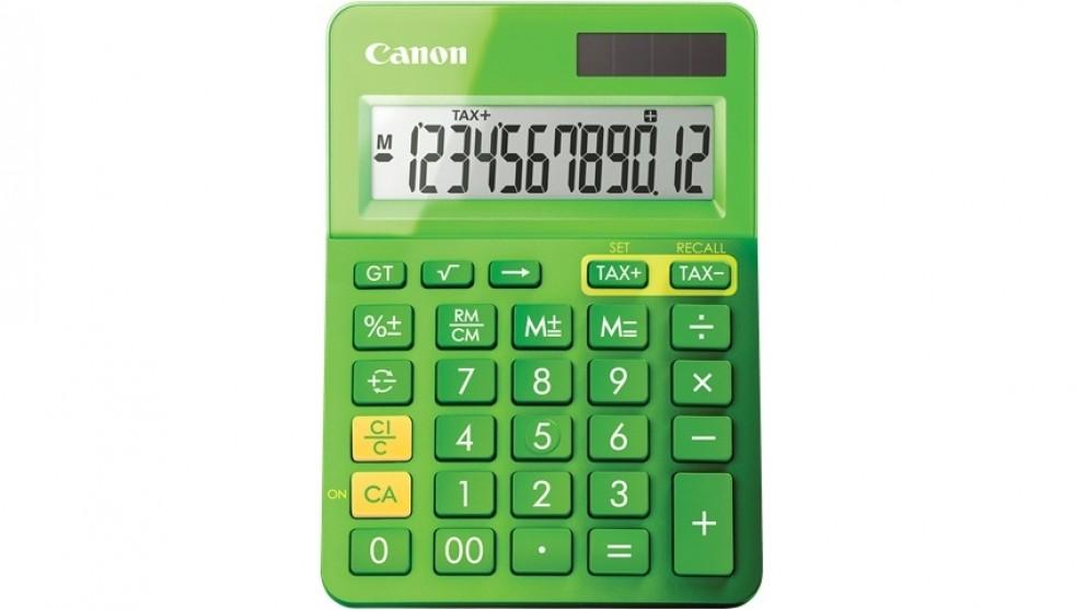 Canon LS123K Calculator - Metallic Green