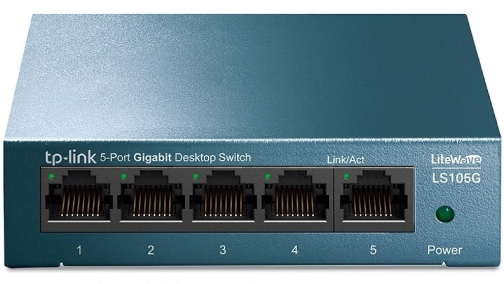 TP-Link LiteWave 5-Port 10/100/1000Mbps Desktop Switch