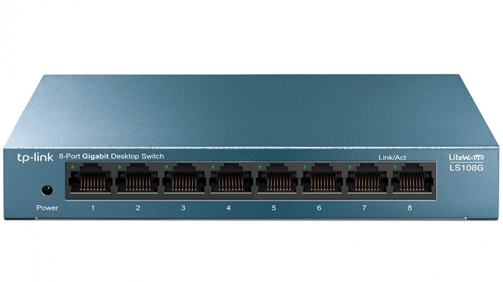 TP-Link LiteWave 8-Port 10/100/1000Mbps Desktop Switch