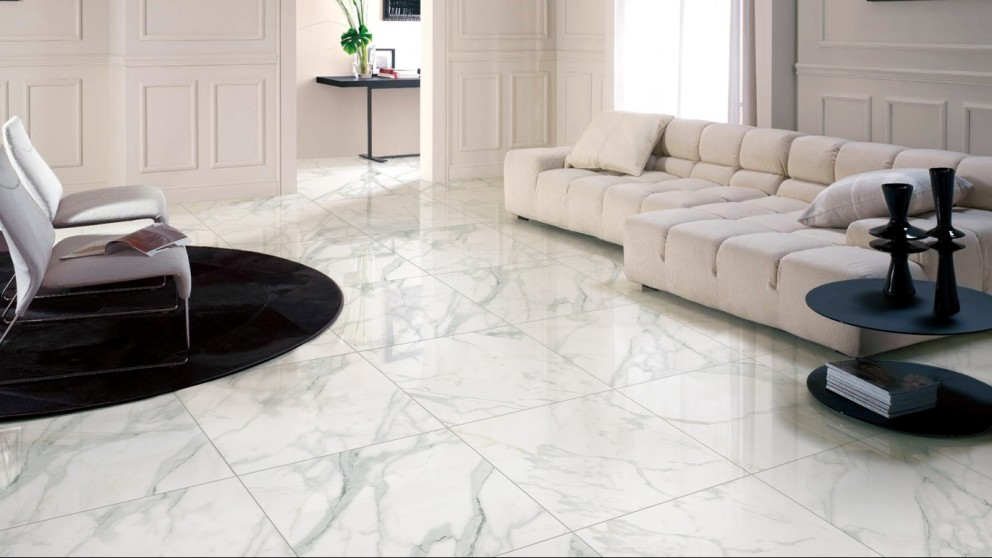 Euro Marble Calacatta Gold 300x300mm Tile