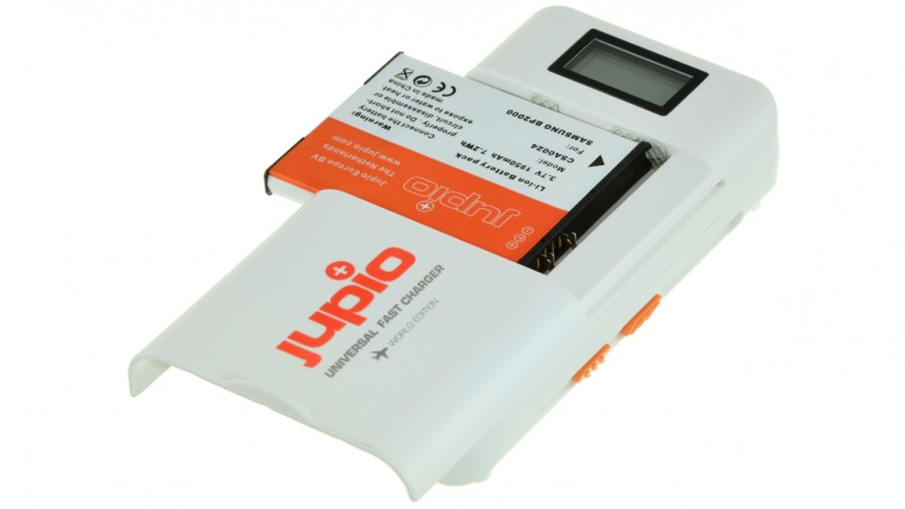 Jupio Universal Travel Fast Charger with LCD Display