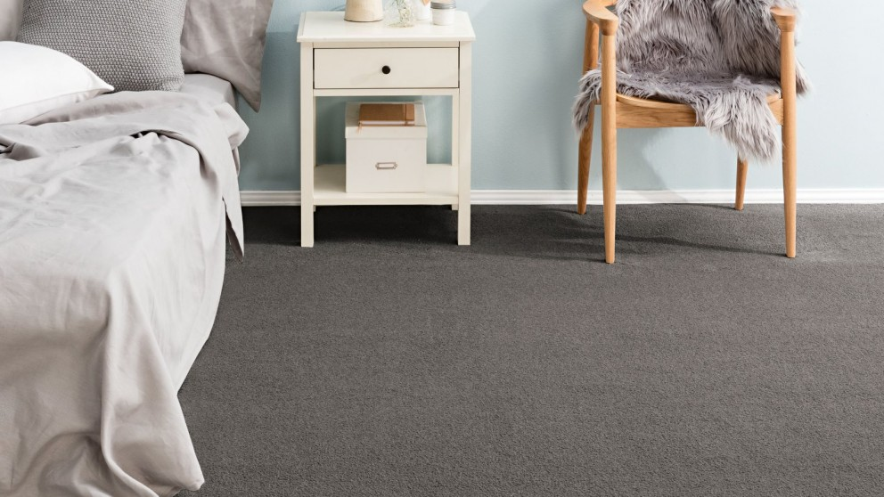 Karastan Luxurious Beauty Green Smoke Carpet Flooring