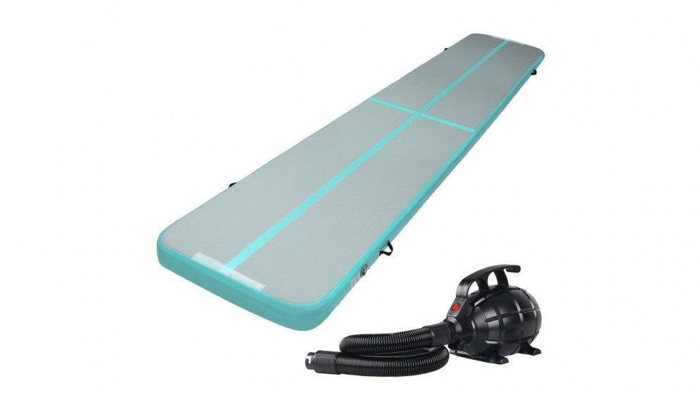 Everfit GoFun 5x1m Inflatable Air Track Mat with Pump Tumbling