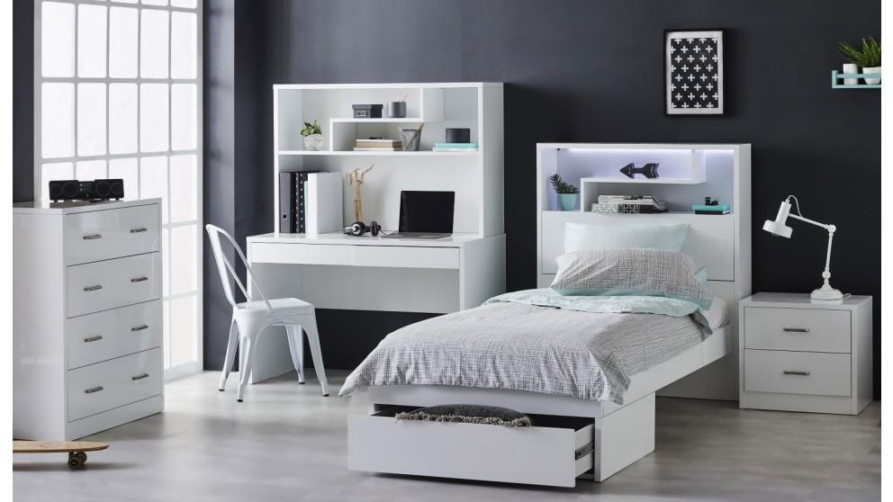 Buy Zurick Single Bed Harvey Norman Au