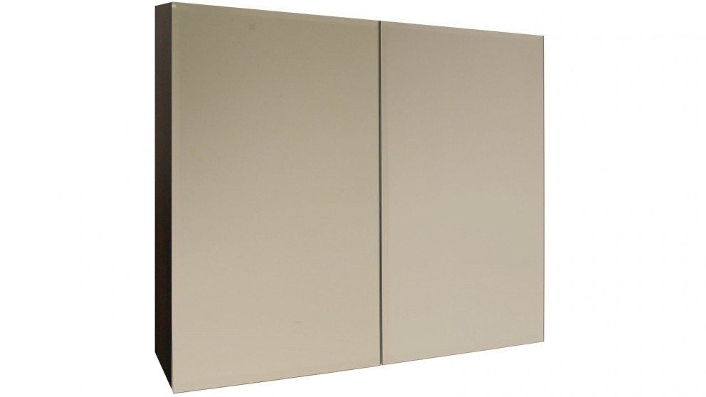 Ledin Mosman 600mm Mirrored Shaving Cabinet - Ebony
