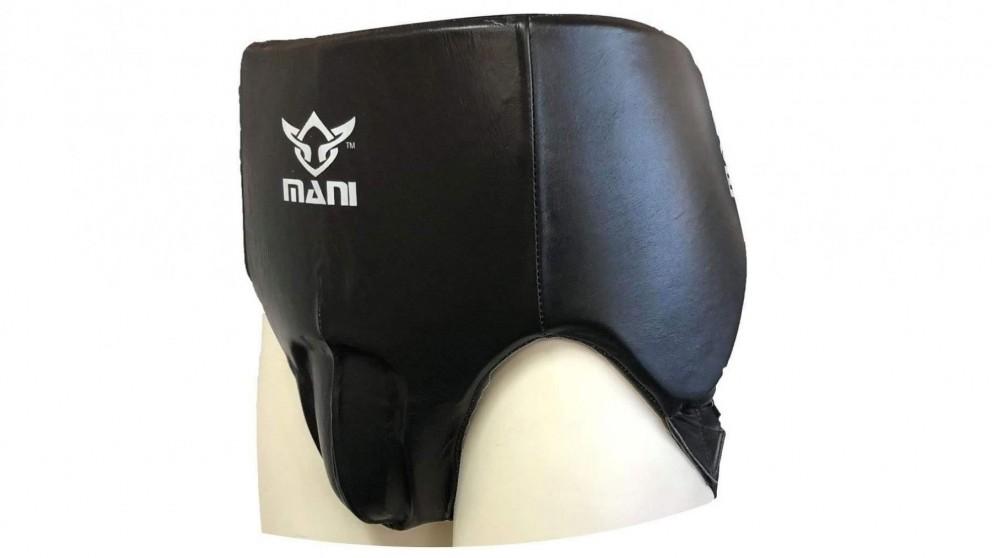 Mani Sports Male Leather Abdominal Groin Guard