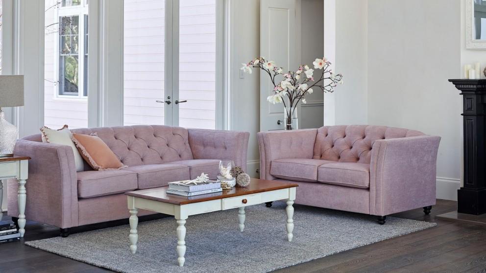 Maggie 3 Seater Fabric Sofa