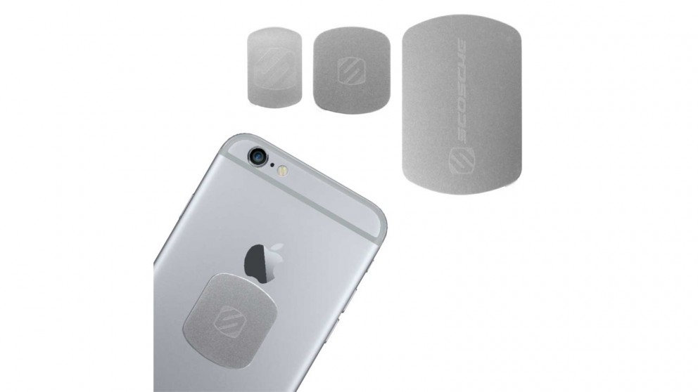 Scosche MagicMount Replacement Kit Plates - Silver