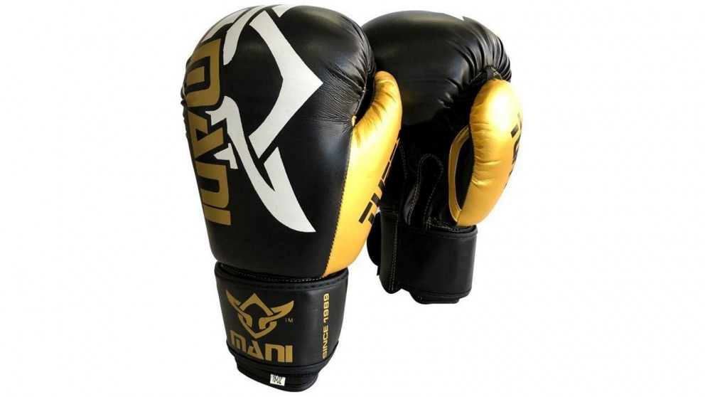 Mani Sports TuffX Boxing Gloves - Gold