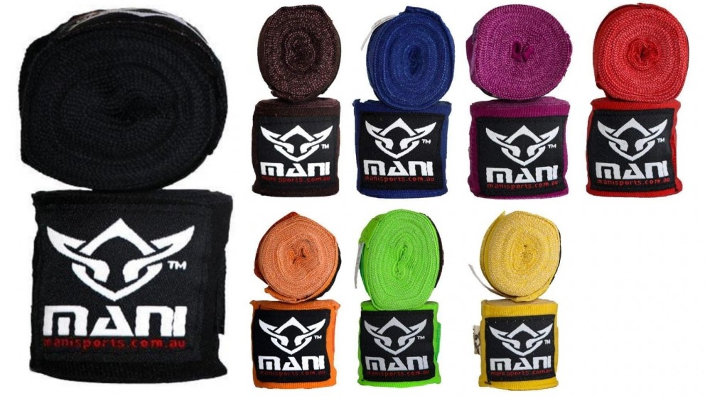 Mani Sports 3 Meters Length Boxing Hand Wrap Elasticated