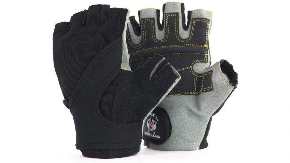 Mani Sports Gray Kevlar Training Gloves