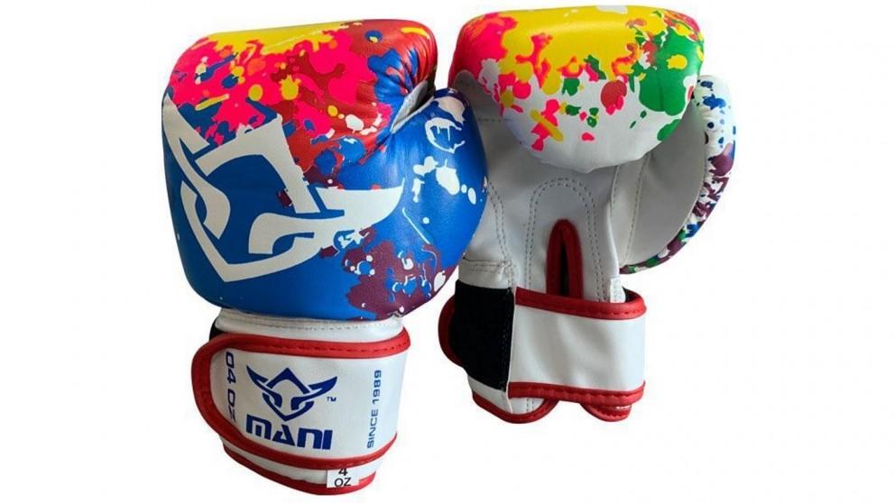 Mani Sports Kids Boxing Gloves Multi-Colour
