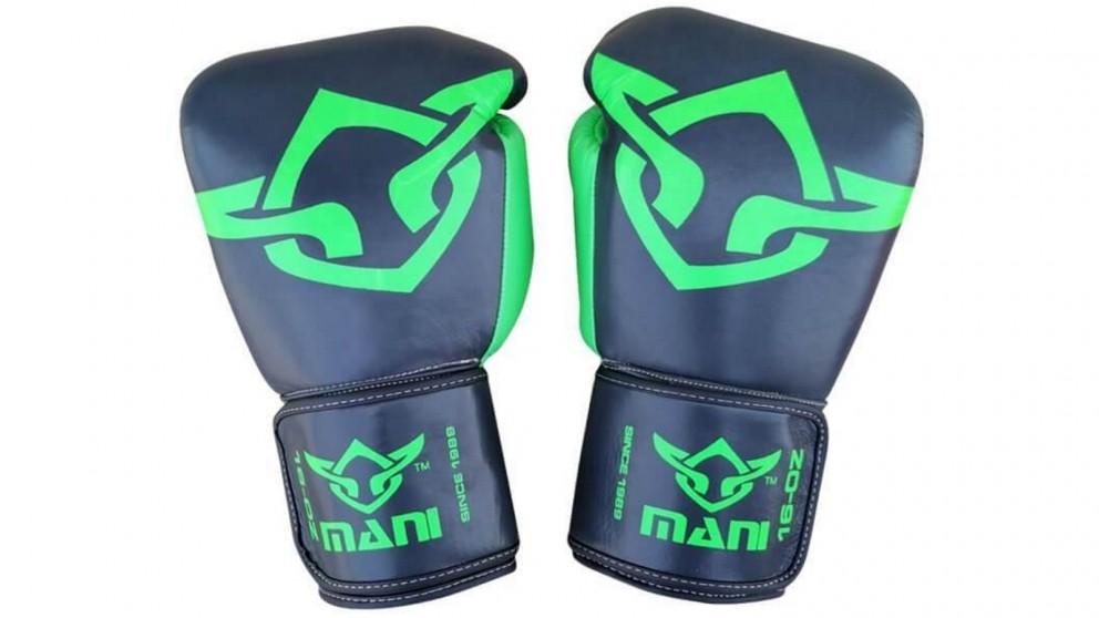 Mani Sports Muay Thai Boxing Gloves Green