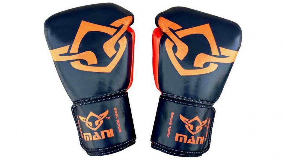 Mani Sports Muay Thai Boxing Gloves Orange