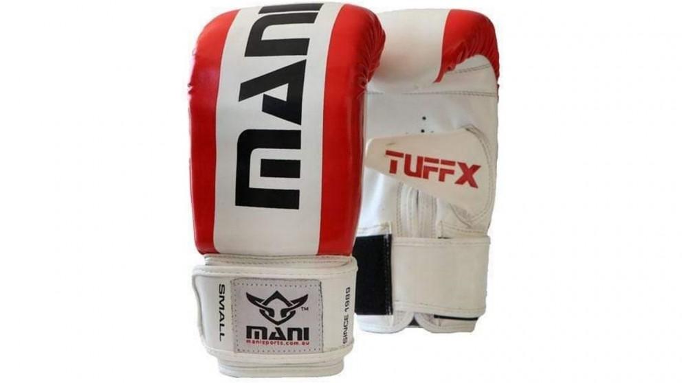 Mani Sports TuffX Bag Mitts - Red/White