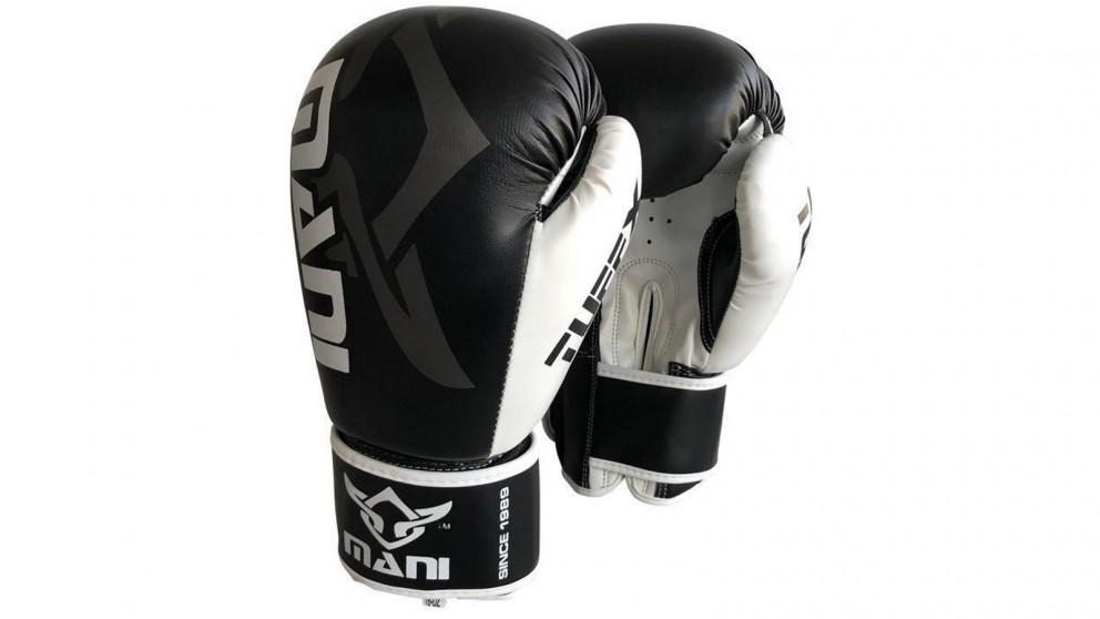 Mani Sports TuffX Boxing Gloves - Black