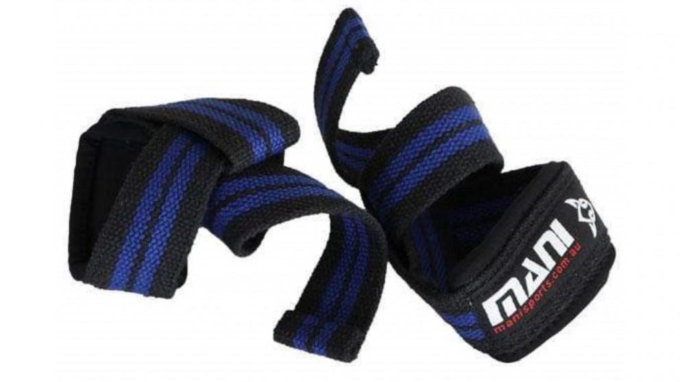 Mani Sports 50mm Weightlifting Straps with Neoprene
