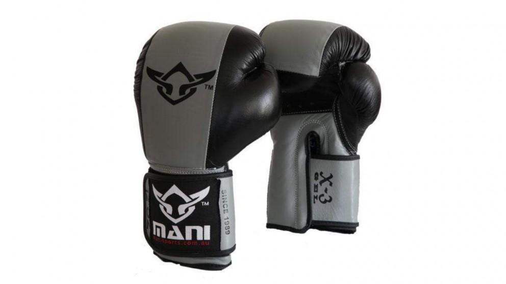 Mani Sports Leather Gel Professional Boxing Glove